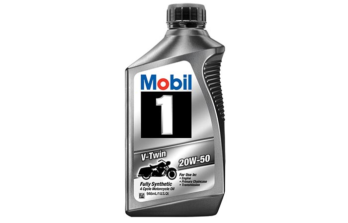 Mobil 1 Synthetic Motorcycle Oil