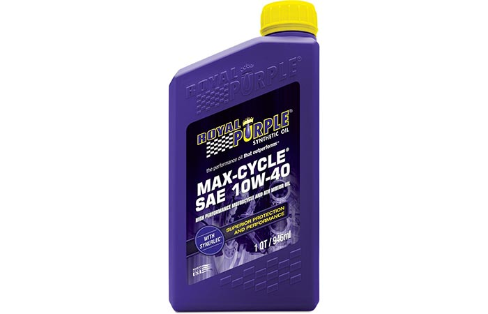 Royal Purple Max Cycle Synthetic motorcycle oil