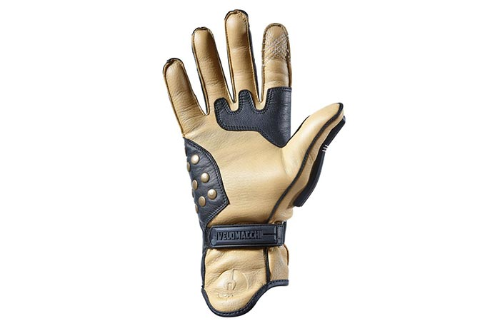 Palm view of Velomacchi Speedway Gloves