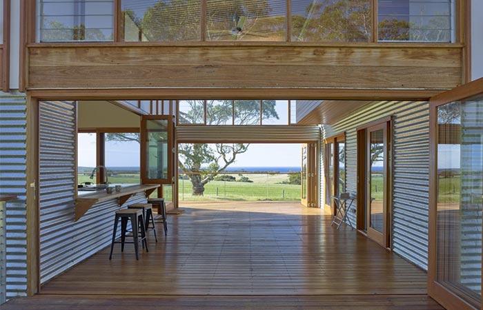Open Hallway Waitpinga House