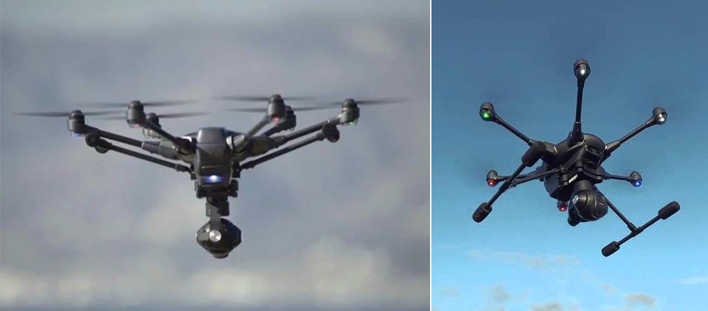 Typhoon H Drone in flight