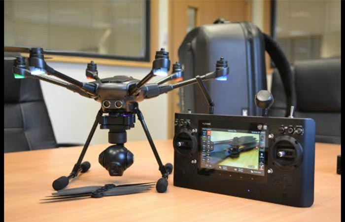 Typhoon H with the ST16 Control station
