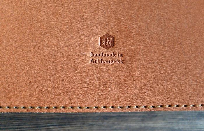 Stamp On iPad Leather Folio