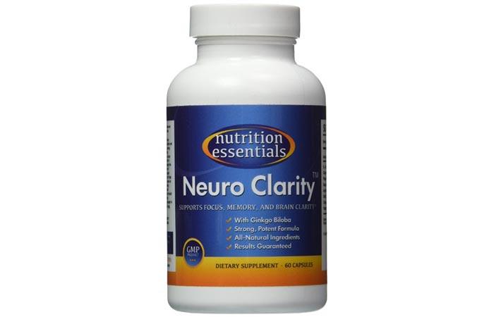 Nutrition Essential's Neuro Clarity