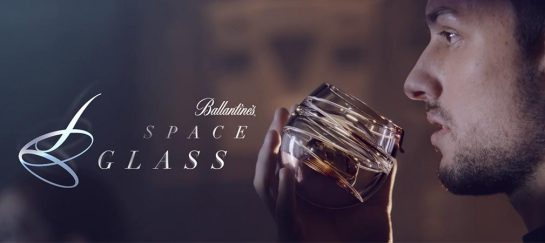 Ballantine's Space Glass | Zero Gravity Whiskey Tumbler