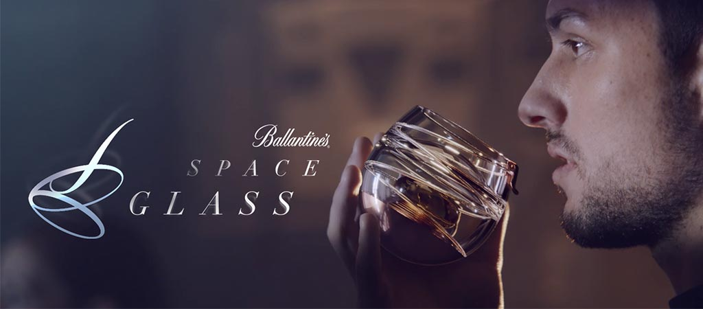 Ballantine's Space Glass Cover Photo