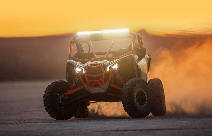 Can-Am Maverick X3 front view