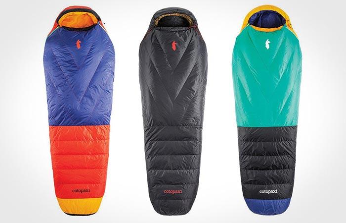 Three Colors Of Cotopaxi Sueno Sleeping Bag