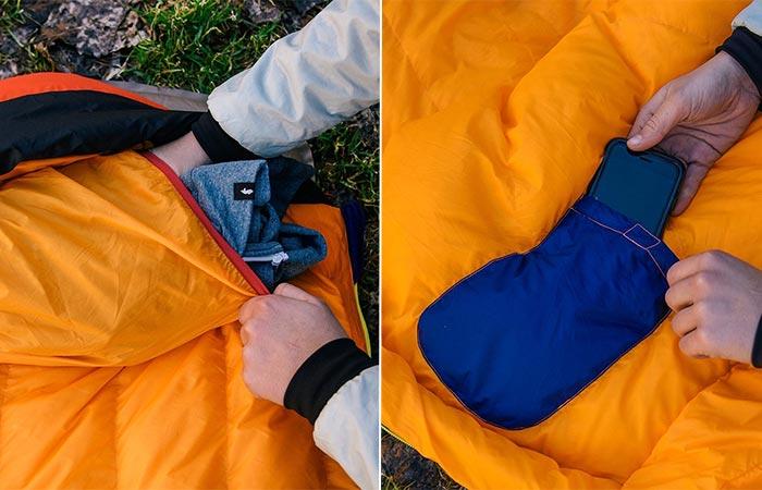 Cotopaxi Sueno Sleeping Bag Pillow And Media Pocket