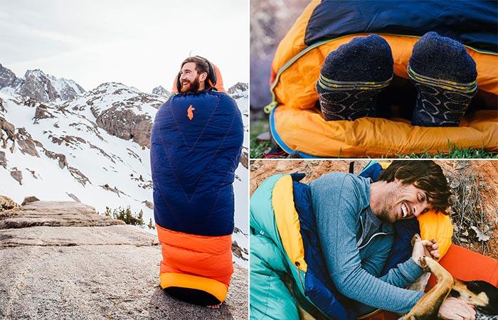 Three Images Of Cotopaxi Sueno Sleeping Bag