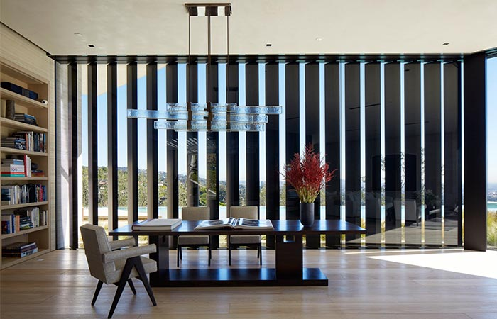 Michael Bay's LA Home Dining Room