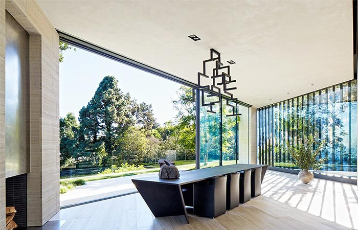 Dining Room At Michael Bay's LA Home