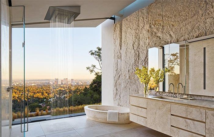 Bath At Michael Bay's LA Home