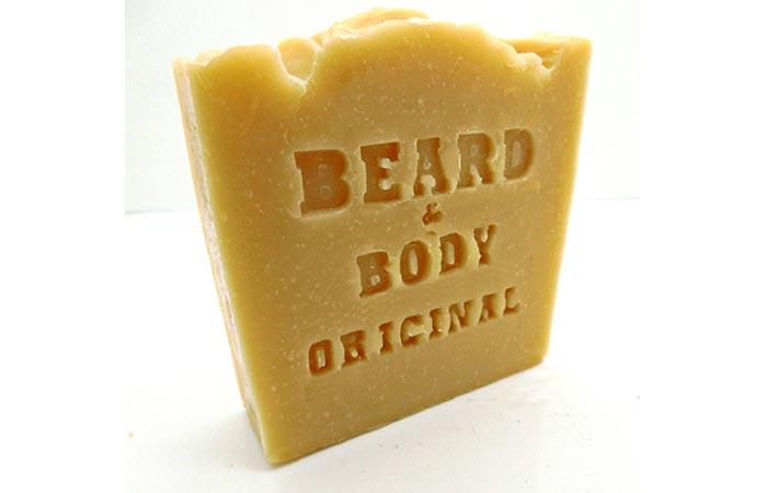 Honest Amish Beard & Body Soap Bar