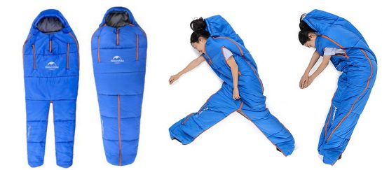 Naturehike Sleeping Bag | Human-Shaped Onesie Sleeping Bag