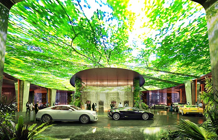 New hotel with a rainforest to be opened in dubai for New hotels in dubai 2016