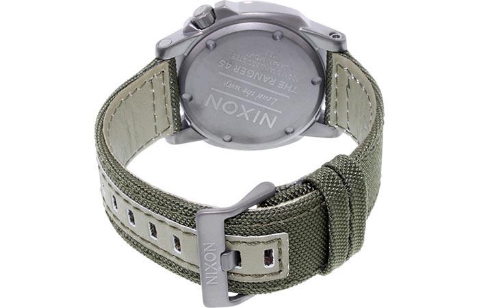 Back view of the Nixon Ranger 45 Nylon