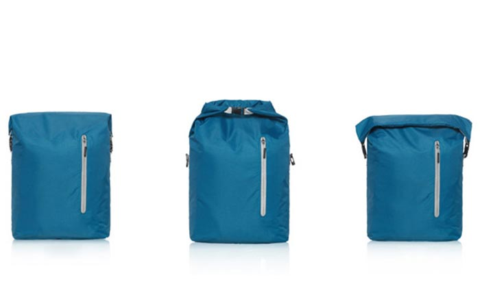The three different styles of the Xiaomi Backpack