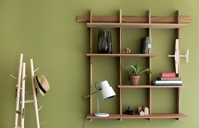 Sticotti Bookshelf and Coat Rack
