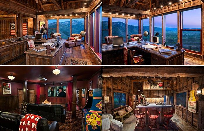 Sunset Ranch Offce And Cinema Room