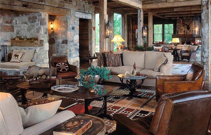 Sunset Ranch Living Room