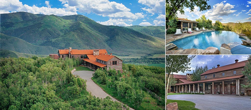 Sunset Ranch In The Uinta Mountains Tributes The American West