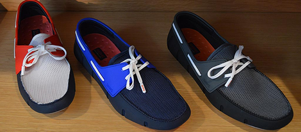 Different Colors of the SWIMS men's sports loafers
