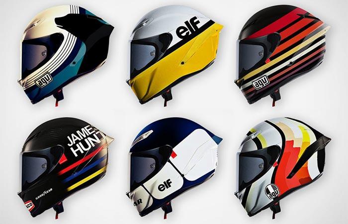 Six Hello Cousteau Helmets