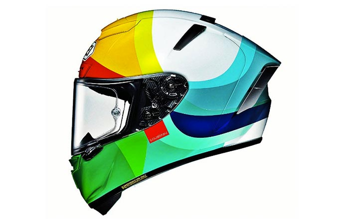 One Colorful Hello Cousteau Helmet