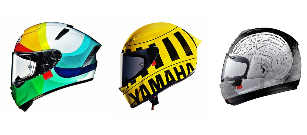 3 different helmets design from Hello Cousteau