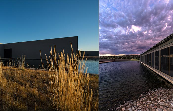 Two Images Of Tom Ford's Santa Fe Ranch