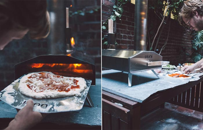 Making Pizza In Uuni 2S Pizza Oven