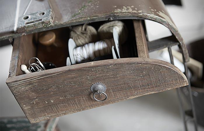 Vintage Jeep Desk From Canett Furniture Drawer