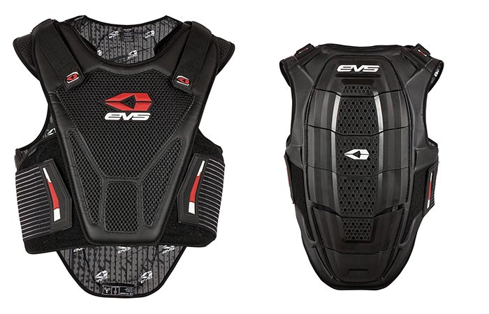 EVS Sports vest front and back view