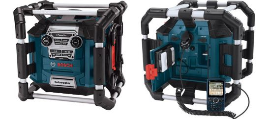 Bosch Power Box | A Booming Jobsite Radio And Charger