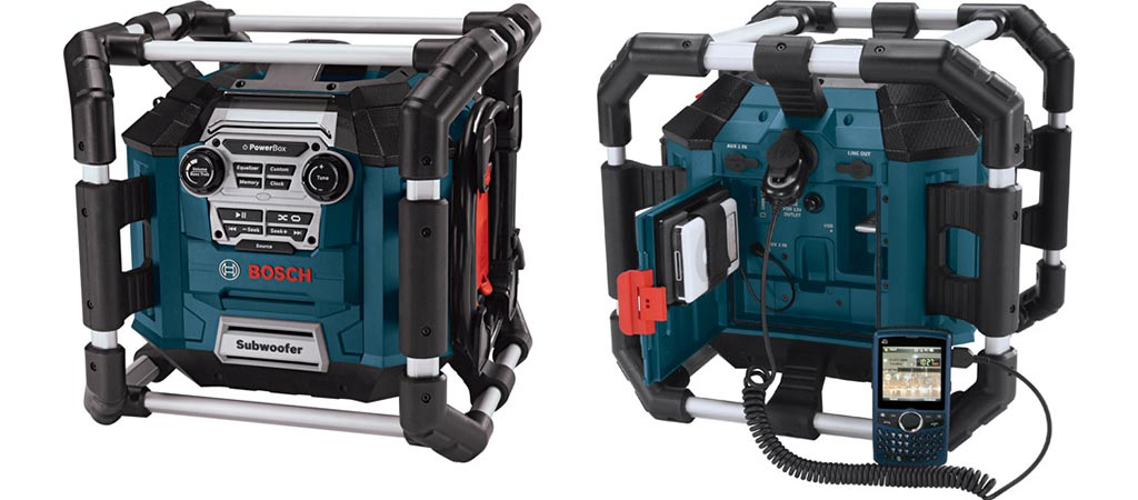 Bosch Power Box front and back view