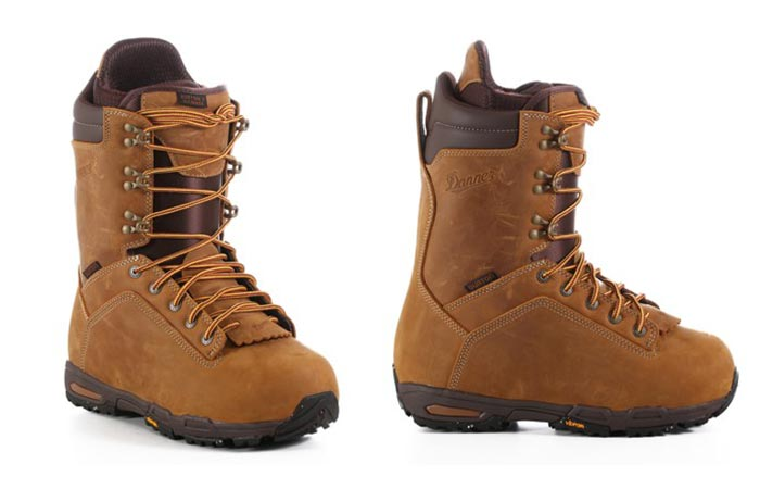 Burton x Danner Snowboard Boot From Two Sides