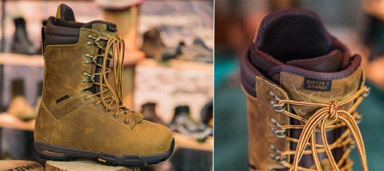 Burton X Danner Snowboard Boots