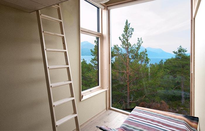 Cabin Straumsnes Bedroom