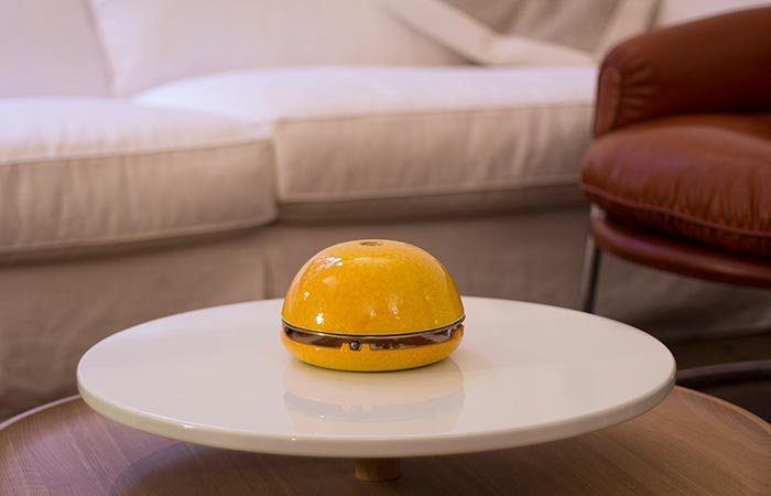 Egloo Yellow on a table