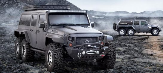 G. Patton Tomahawk | Customized 6×6 Jeep Wrangler