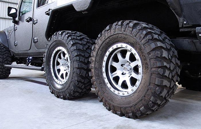 G Patton Tomahawk wheels