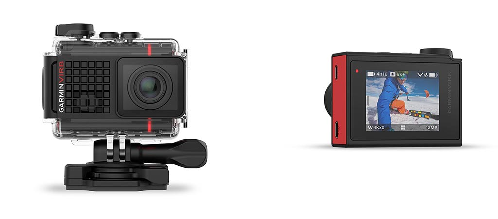 Garmin VIRB Ultra 30 front and back view