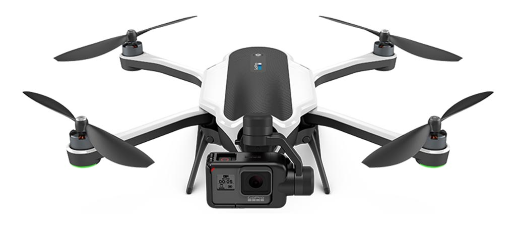 GoPro's Karma front view