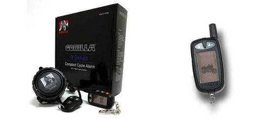 Gorilla Automotive 9100 | Motorcycle Alarm With Paging System