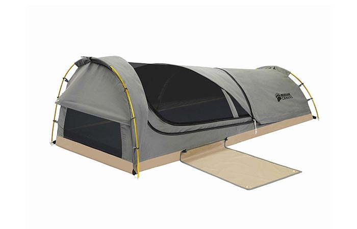 Kodiak Canvas with covers open