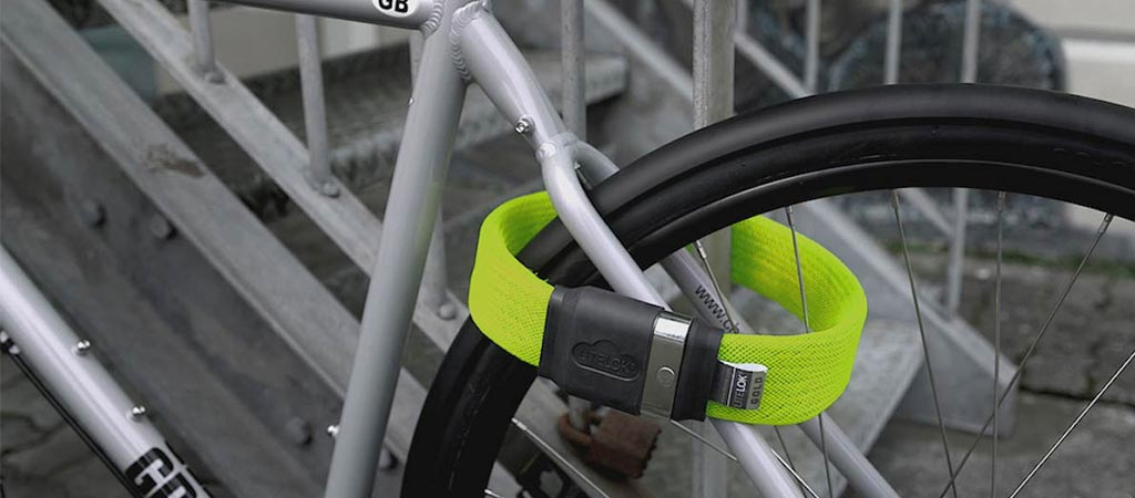 Litelok | Light And Flexible Bike Lock