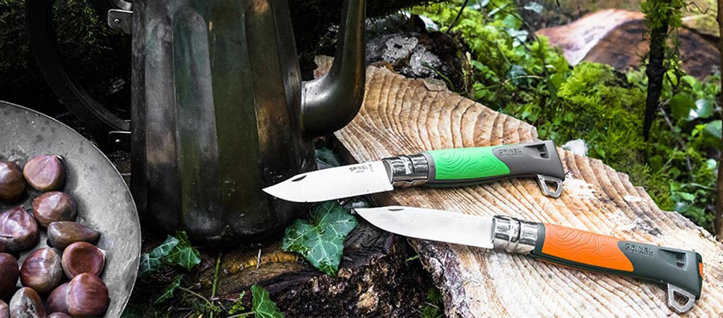 Opinel No. 12 Explore | A Survival Knife, Firesteel, Whistle And Guthook