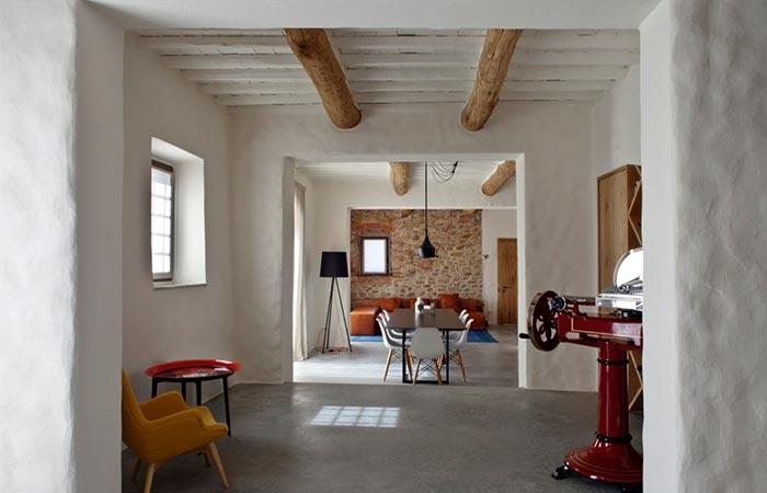 Tuscan Farmhouse Dining Room