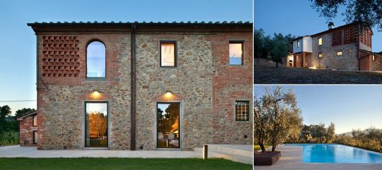 Renovated Old Farmhouse In The Tuscan Countryside